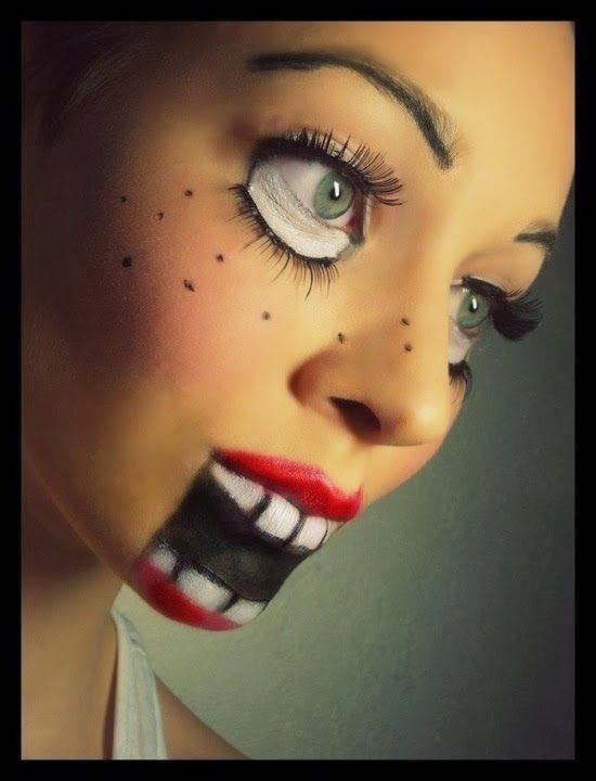 TO DIY OR NOT TO DIY: HALLOWEEN SCARY DOLL MAKEUP