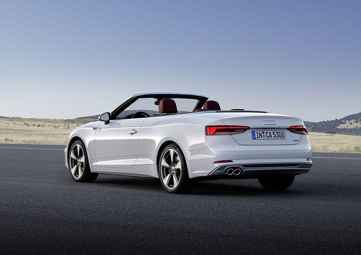 Trailer: Audi A5 Cabrio – neues Modell 2017