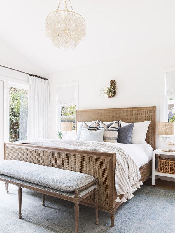 Inside A Striking Bay Area Home With Cali Cool Vibes. Coastal Master BedroomBeautiful  Master BedroomsBedroom DecorPottery ...