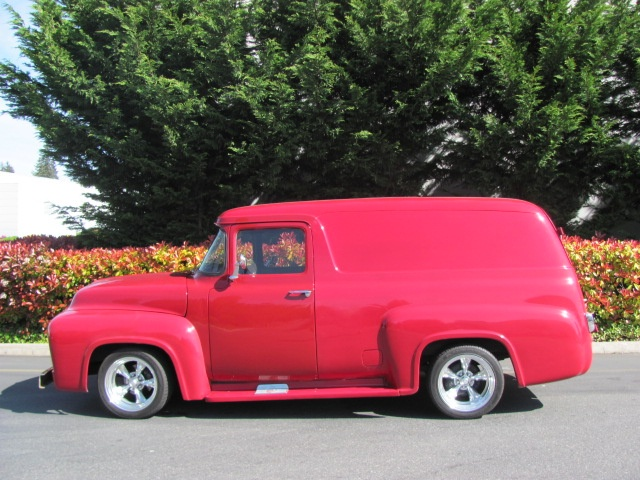 1953 1956 panel trucks for autos weblog. Black Bedroom Furniture Sets. Home Design Ideas
