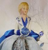 Denise Porcelain Half Doll ~ Doll only for GPA Designs from Brier Rose  ~ Nashville 2017
