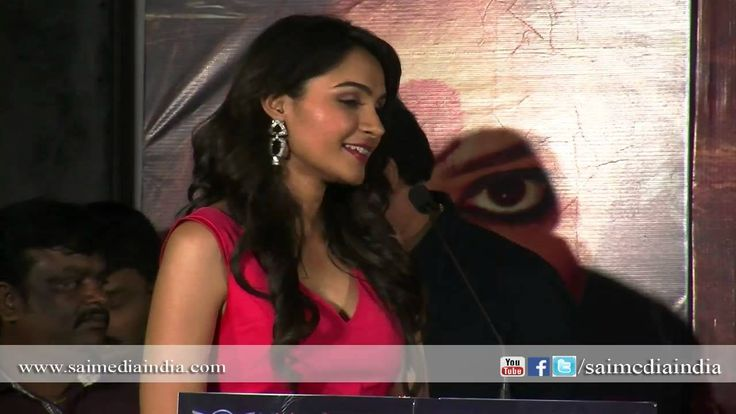 #AndreaJeremiah speaks about #Aranmanai Movie at Audio Launch