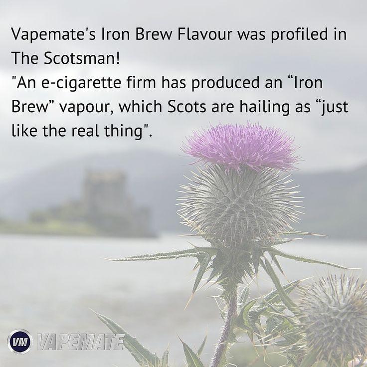 Iron Brew Eliquid profiled in The Scotsman! #scotland #vape #vaper #vaping #ukvapers #ukvape #vapeuk #vapelife #ecig #eliquid #cigarettes #quitsmoking #smokingfacts #vapeon #vaperevolution #vapenation#vapestagram #vapefriends #vapefam #ecigarettes #vapejuice #vaperazzi#vapelove #vapecommunity https://www.vapemate.co.uk/eliquid/iron-brew-eliquid.html#utm_sguid=146258,2cb2d7ff-38d7-a01b-5739-bfa711e1b680
