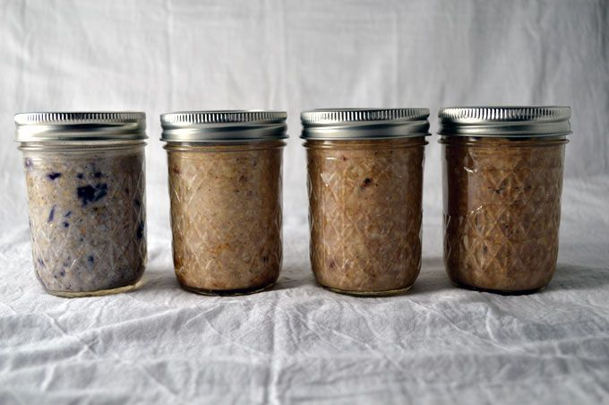 Overnight oats are an incredibly simple, delicious and completely customizable breakfast on the go, and these are my seven favorite ways to eat it!