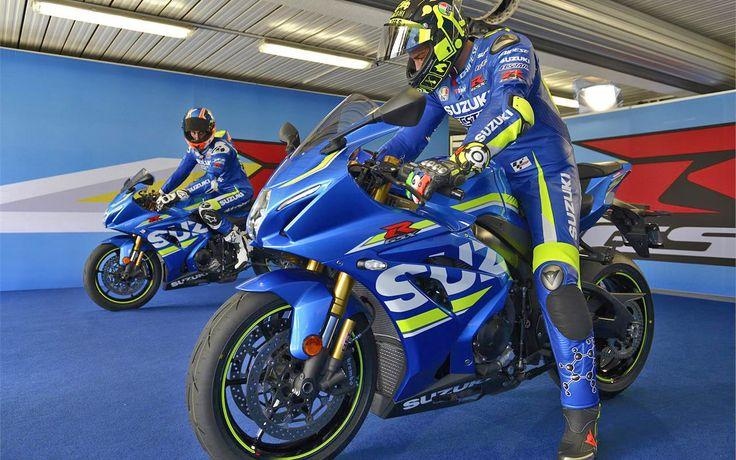 Iannone és Rins tesztelte az új GSXR1000R-t