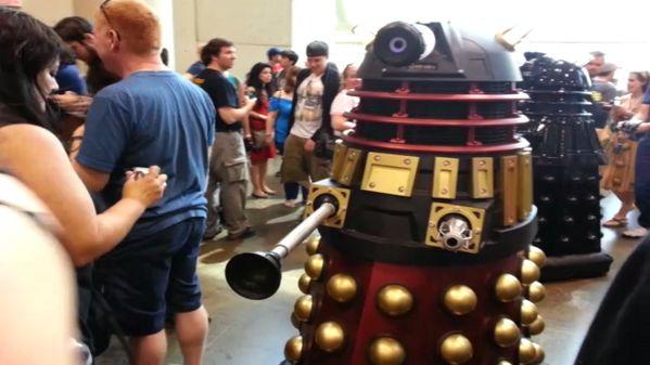 #Daleks roaming the floors at #FanExpo 2013 today