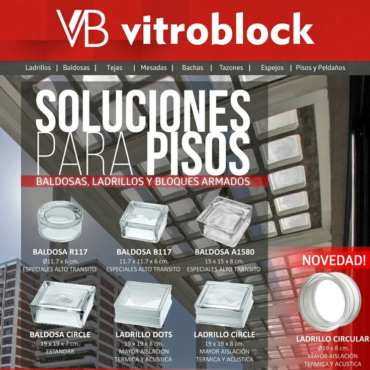 SOLUCIONES PARA PISOS! Baldosas y Ladrillos de Vidrio Bloques Armados . . #Vitroblock #LadrilloDeVidrio #BaldosasDeVidrio #BloquesArmados #Arquitectura #Architecture