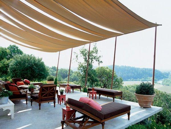 The 25+ Best Ideas About Markise Balkon On Pinterest | Deck ... Veranda Mit Uberdachung Haus Fruhling