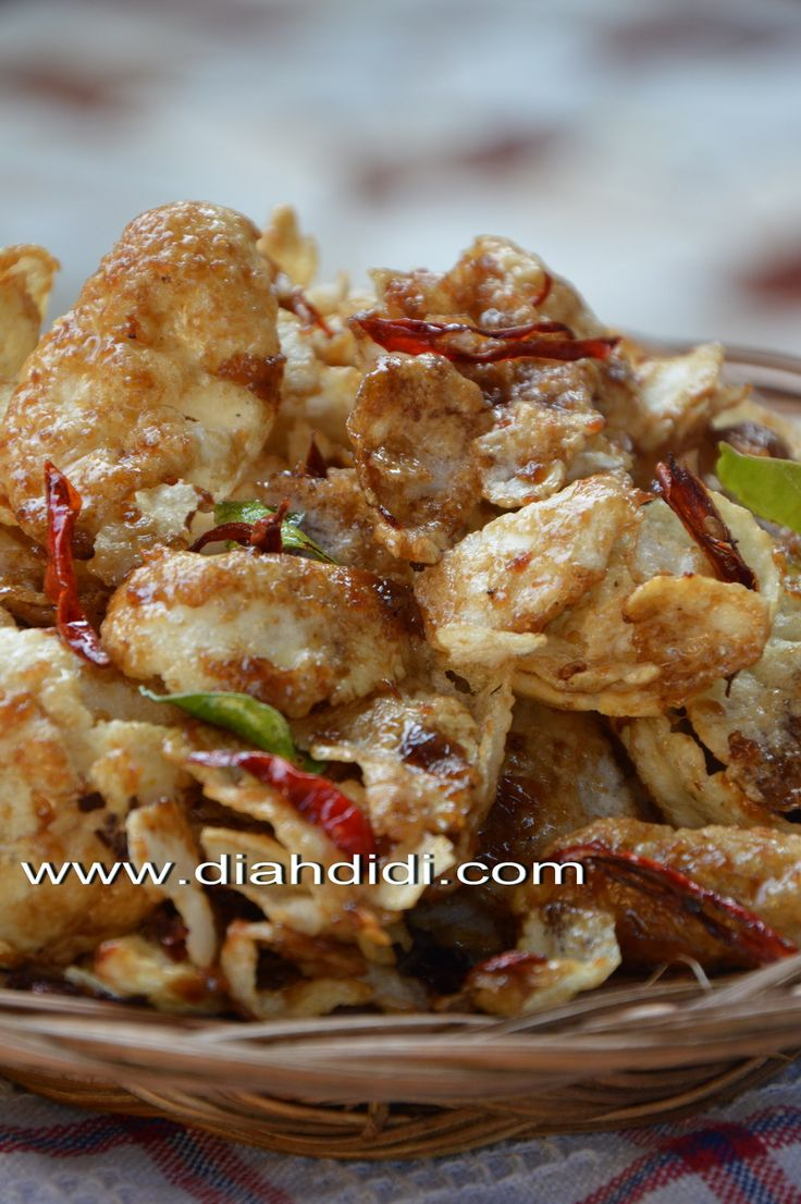 Diah Didi's Kitchen: Emping Melinjo Pedas Manis