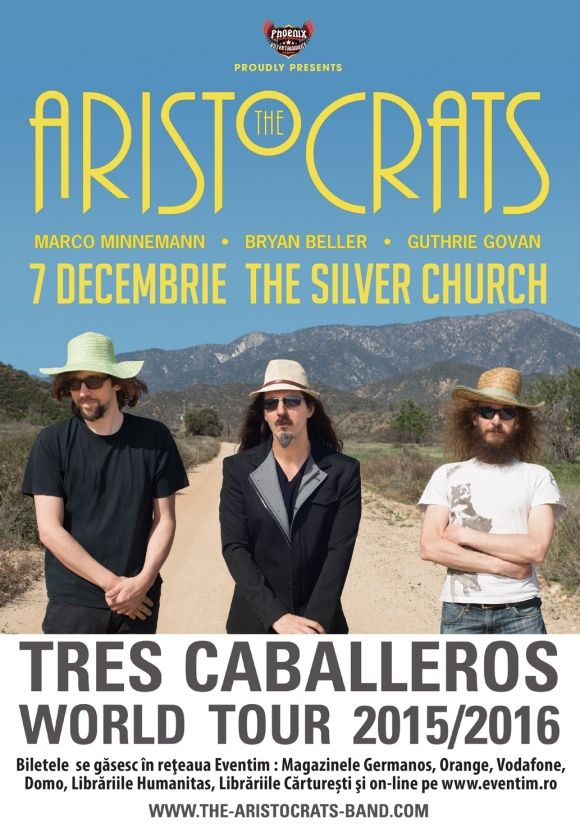 Concert The Aristocrats in The Silver Church din Bucuresti