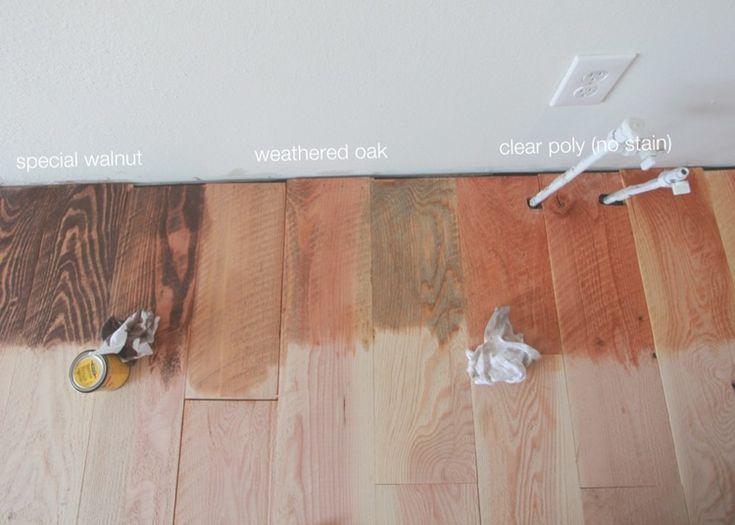 Happy Hardwood Part I Sanding Amp Staining Kitchen