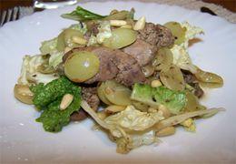 Салат по узбекски с мясом и редькой