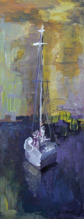 """Sailing Away"" (5) by Mihaela Ionescu"
