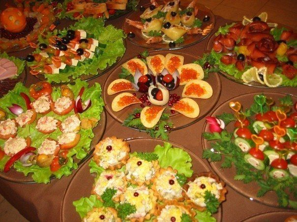 BUFFET. 20 IDEAS THAT YOU CAN SURPRISE THE GUESTS!