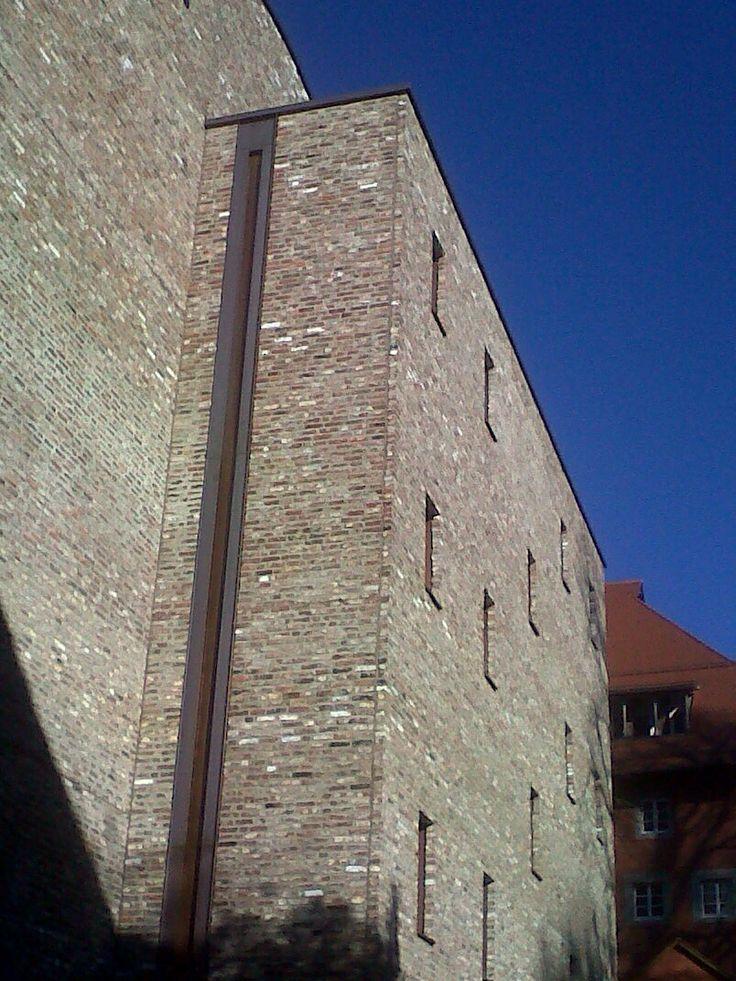 Concealed Copper Gutter Museum Ravensburg Details