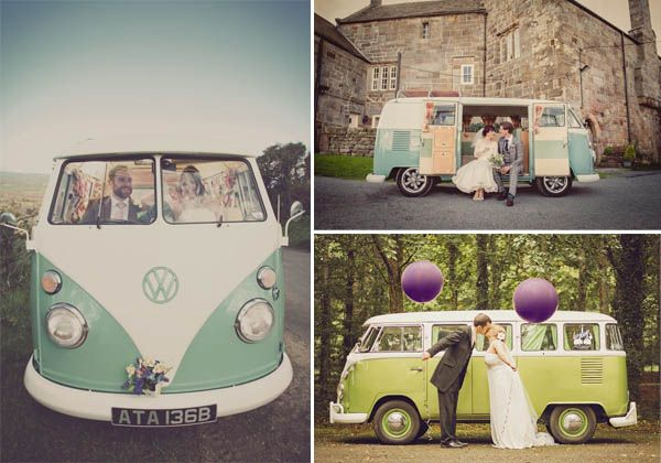 matrimonio in furgone volkswagen
