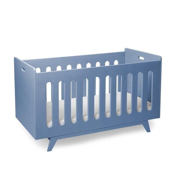 Mimm  Babybett  Blau