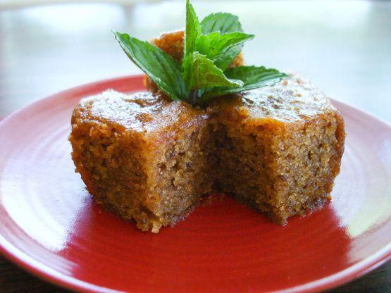 Greek Honey Cake - looks delicious!!  http://greek.food.com/recipe/greek-honey-cake-428671?photo=286168