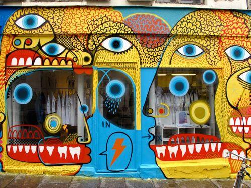 Paris street art: David Shillinglaw, Urban Art, Street Art Graff, Paris Street, Art Urbano, Ben Slow, Slow Photos, Streetart
