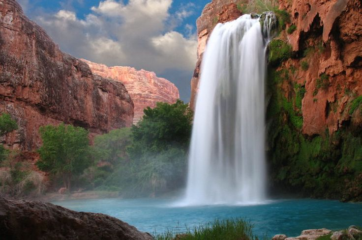 Les chutes Havasu en Arizona, Etats-Unis