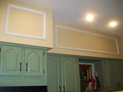 Before And After...Unsightly Kitchen Soffits | Kitchen ...