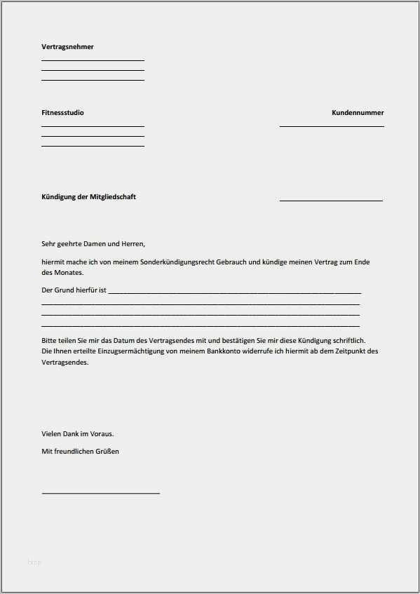 Kündigung fußballverein muster mitgliedschaft Kündigung Fußballverein:
