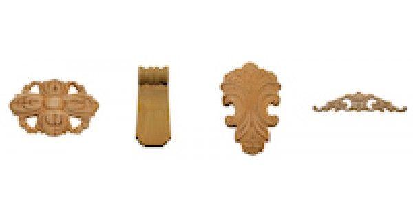 Online specialist in houten ornamenten van beukenhout ter versiering van bijvoorbeeld uw tafel, dressoir of kast en vele andere doeleinden. Groot assortiment en laagste prijs.  Houthandel Dielessen is de goedkoopste online leverancier in de meubelindustrie voor particulieren, meubelmakerijen, meub