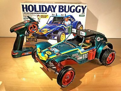 ﹩450.00. Ultimate Tamiya Holiday Buggy Brushless Full Custom Built Electric Rc + Radio   Fuel Type - Electric, Motor Type - Brushless, Recommended Surface - Off-Road  On-Road, Scale - 1:10, Type - Buggy, Characteristics - Rarity