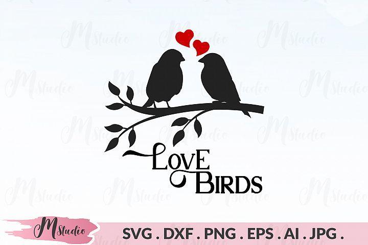 Love Birds Svg Mstudio Crafters Svgs Bird Silhouette Monogram Letters Love Birds