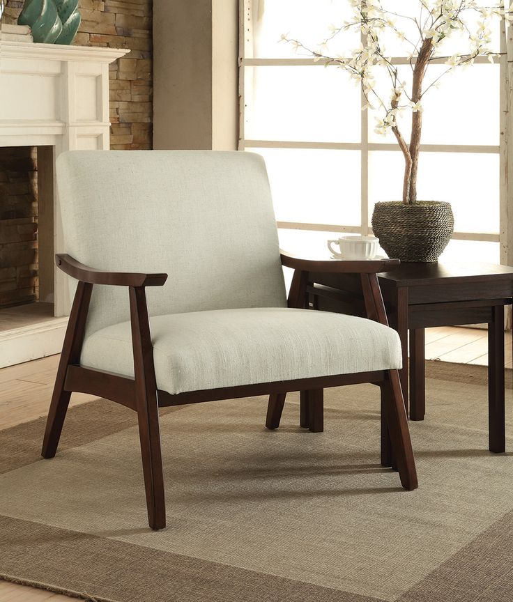 This AVE SIX Davis Klein Azure Fabric Arm Chair Is The Perfect Garnishing  To Your Homeu0027s Happy Environment.