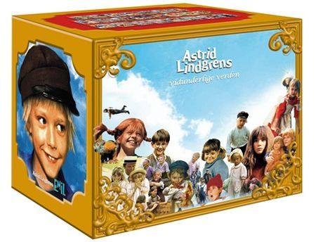Astrid Lindgrens Vidunderlige Verden - Platekompaniet - Film
