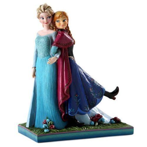 Jim Shore MUSICAL Disney Traditions Frozen Sisters Forever Elsa Anna ENESCO NEW #JimShoreDisneyTraditionsFrozenSistersForeve