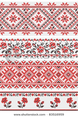 SMALL PATTERN - ornaments in the Ukrainian style