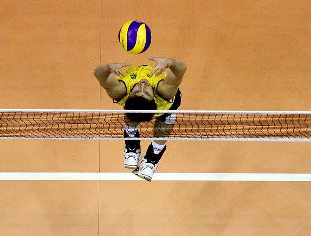 vôlei bruninho brasil e bulgária liga mundial brasília (Foto: FIVB)
