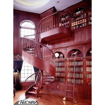 88 best images about library for dream home on pinterest. Black Bedroom Furniture Sets. Home Design Ideas