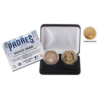 San Diego Padres Highland Mint Stadium Coin Set