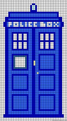 dr who perler patterns - Google Search                                                                                                                                                                                 More