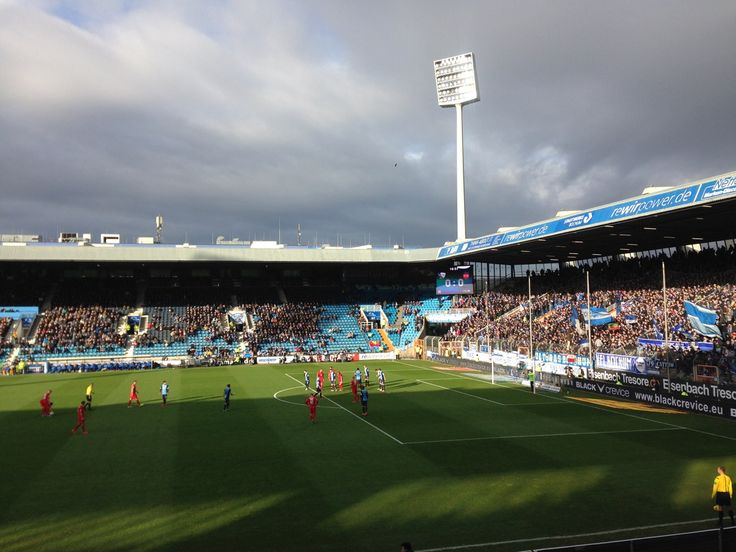 Match in Bochum Ruhrstadion.