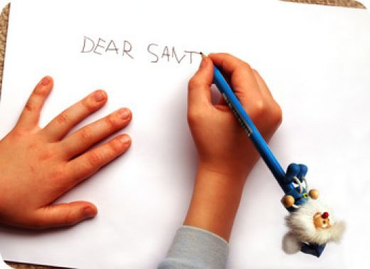 I've kept all the Santa letters my kids have written. So funny to read now