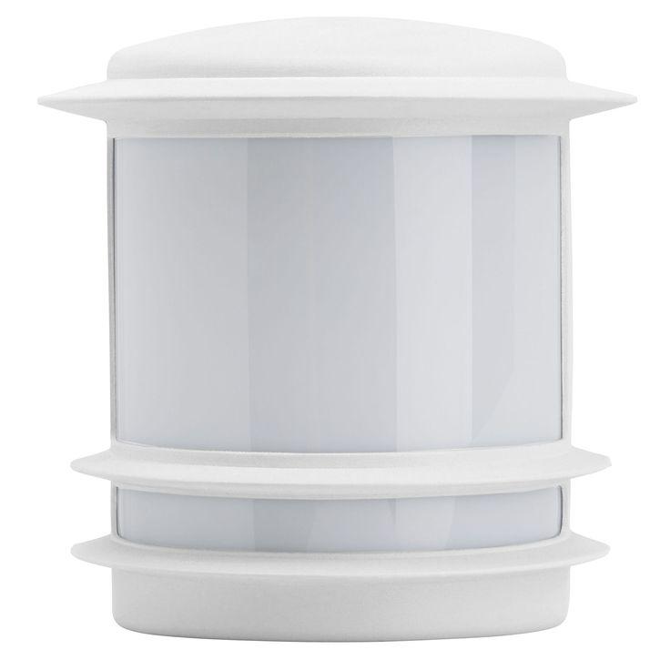25 b sta applique exterieur detecteur id erna p for Luminaire exterieur blanc
