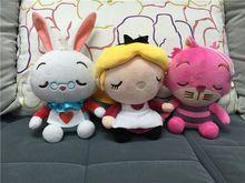 GXHMY 3 pçs/lote Alice No País Das Maravilhas Stuffed & Plush Doll Toy Dolls & Stuffed Toys Movies & TV WJ524(China (Mainland))