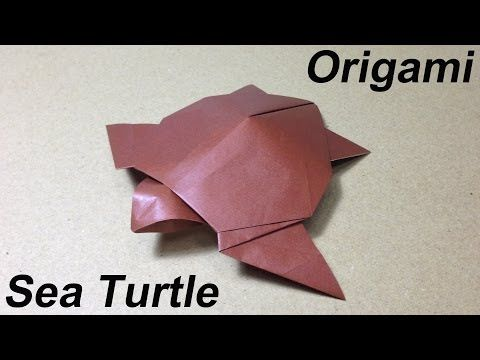How to Make a Paper Animal / Origami Sea Turtle – YouTube | Origami Instruction.com