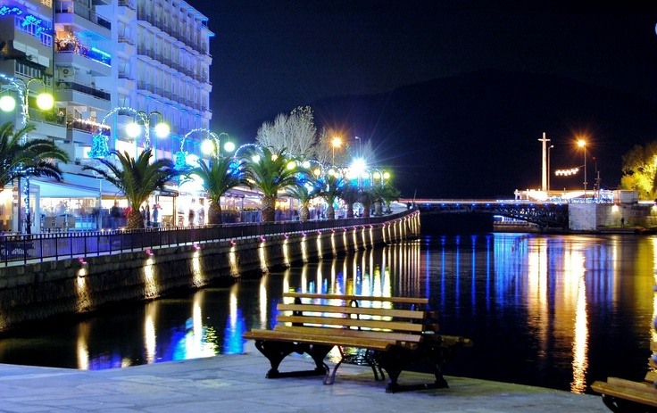 Where we spend our evenings - Chalkida, Evia, Greece