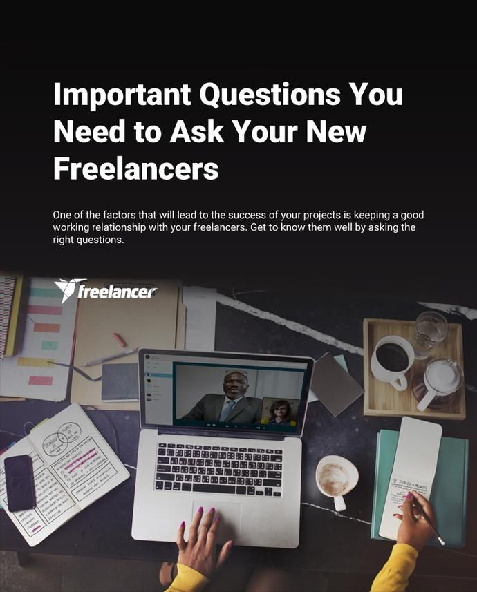 Important Questions You Need to Ask Your New Freelancers #freelancing #business #startups #entrepreneurship