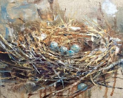 Art Talk - Julie Ford Oliver: New Home - Leap Year