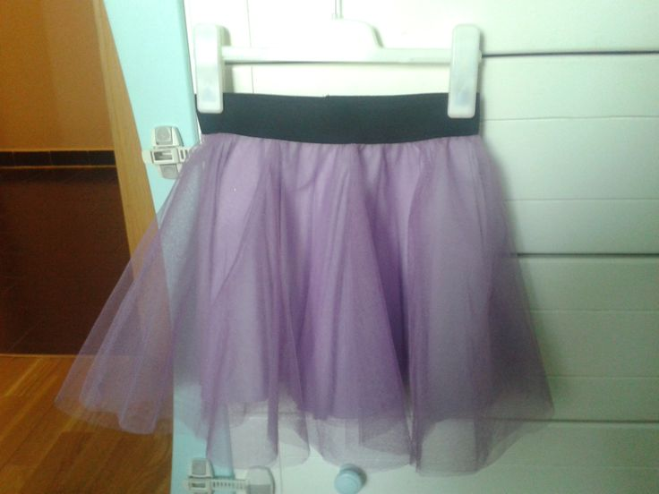 layered tulle circle skirt with elastic waist band