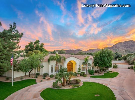 Lovely Home In Paradise Valley AZ #luxury #homes #house #design