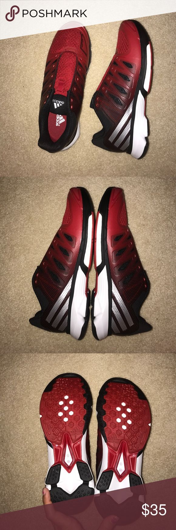 Adidas red volleyball shoes. BRAND NEW Never been worn, red adidas volleyball shoes adidas Shoes Sneakers