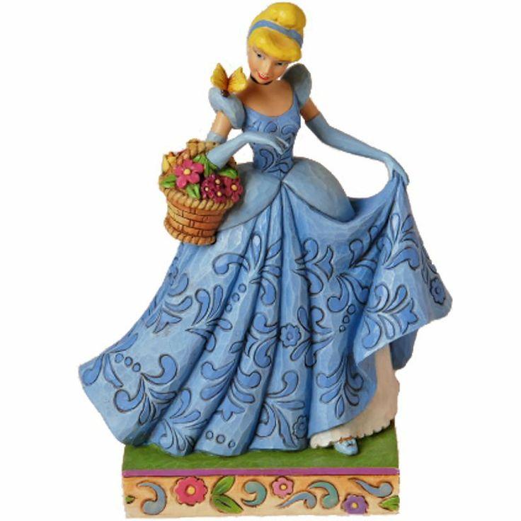 jim shore disney | Cinderella Spring Romance Figurine Jim Shore Disney Traditions