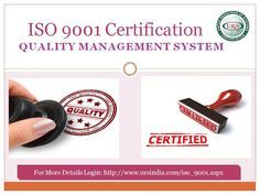 Getting ISO 9001 Certification QMS